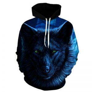 Sweat Loup Mystérieux