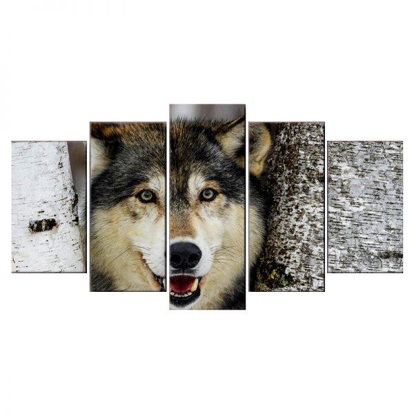 Tableau Tête de Loup