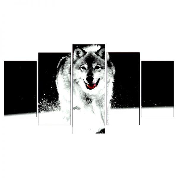 Tableau Loup Décoration