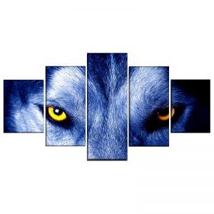 Tableau Regard de Loup
