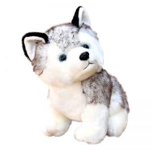 Peluche Loup Husky