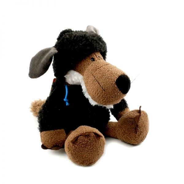 Peluche Loup Mouton Noir