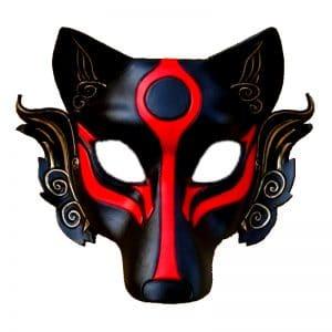 Masque Loup Japonais