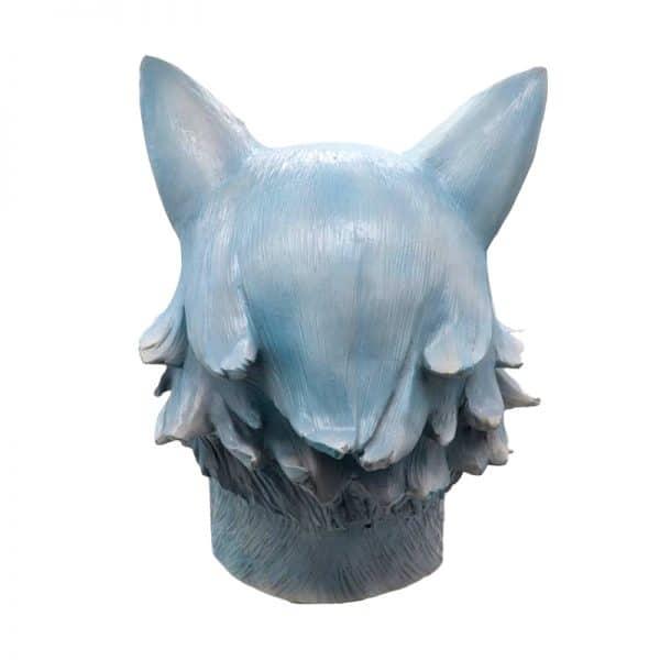 Masque Loup Bleu vue de dos