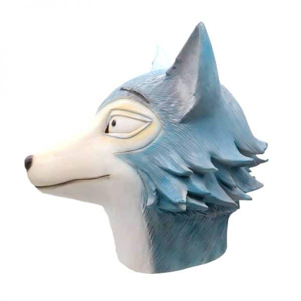 Masque Loup Bleu vue de coté
