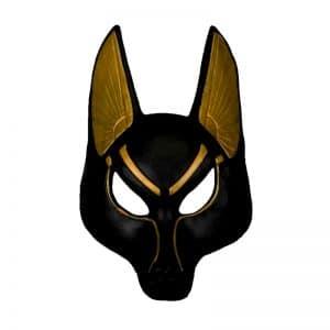 Masque Loup Noir Homme
