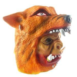 Masque Loup Pour Homme vue de coté