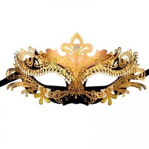 Masque Loup Venise Noir