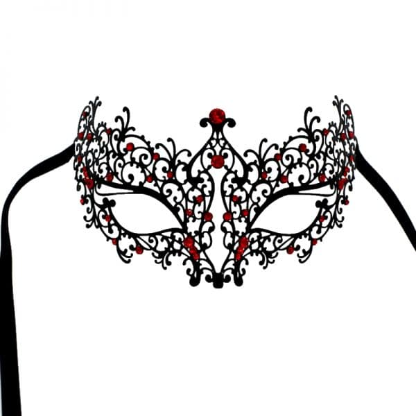 Masque Loup Bal Masqué Rouge