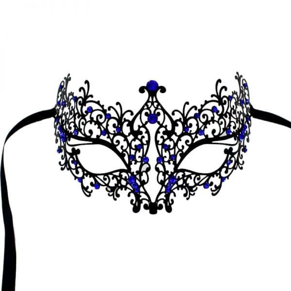 Masque Loup Bal Masqué Bleu