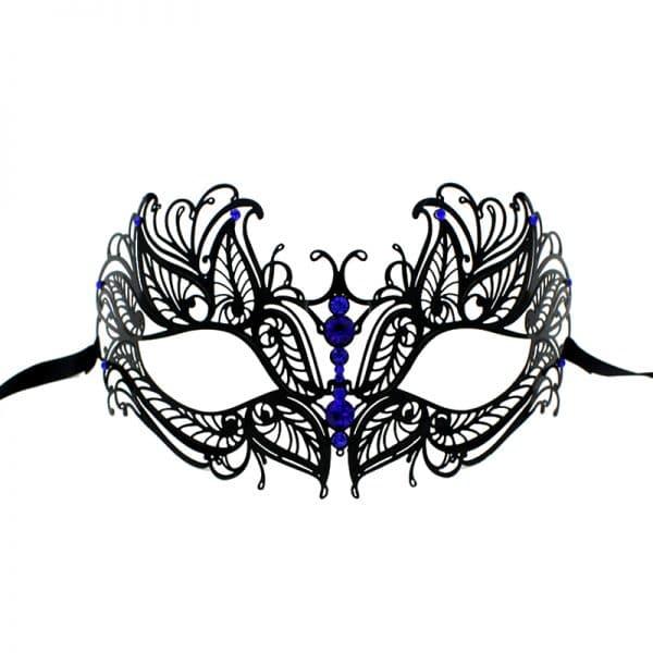 Masque Loup Carnaval de Venise Bleu