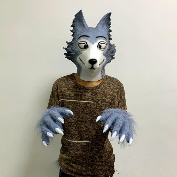 Déguisement Loup Homme vue de face