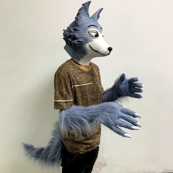 Déguisement Loup Homme vue du coté