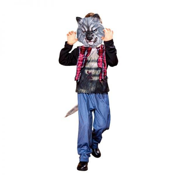 Déguisement Loup Garou Halloween vue de face