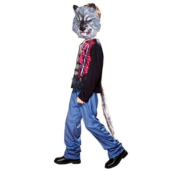 Déguisement Loup Garou Halloween vue de coté