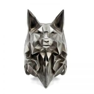 Bague Loup Origami