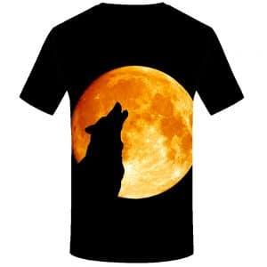 T-Shirt Loup Lune