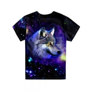T-Shirt Loup Fille