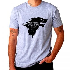 T-Shirt Loup Stark