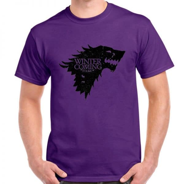 T-Shirt Loup Stark Violet