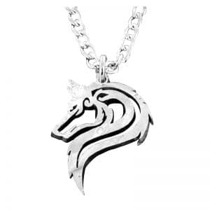 Collier Loup Tribal