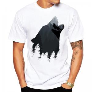 T-Shirt Loup Simple