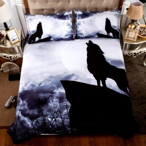 Parure de lit Loup Hurlant