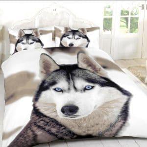 Parure de lit Chien Loup