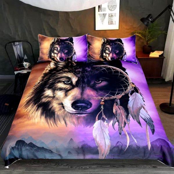 Parure de lit Avec Tête de Loup