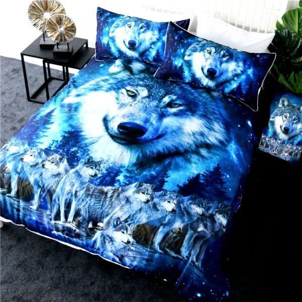 Parure de lit Loup Meute