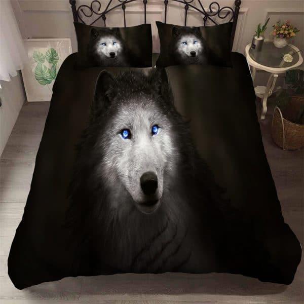 Parure de lit Loup Alpha