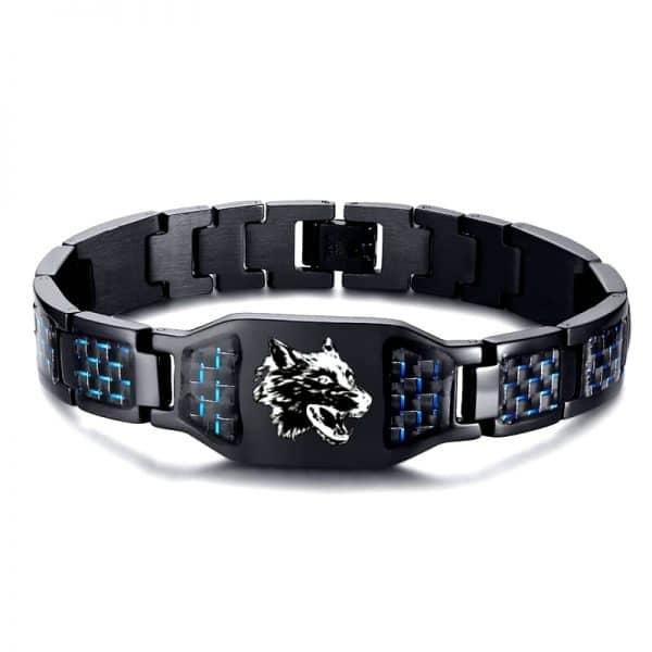 Bracelet Loup Homme