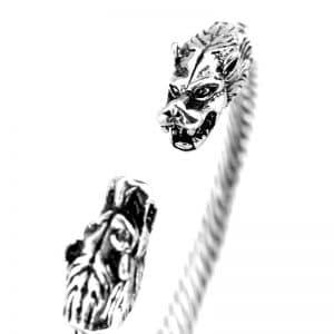 Bracelet Loup Femme
