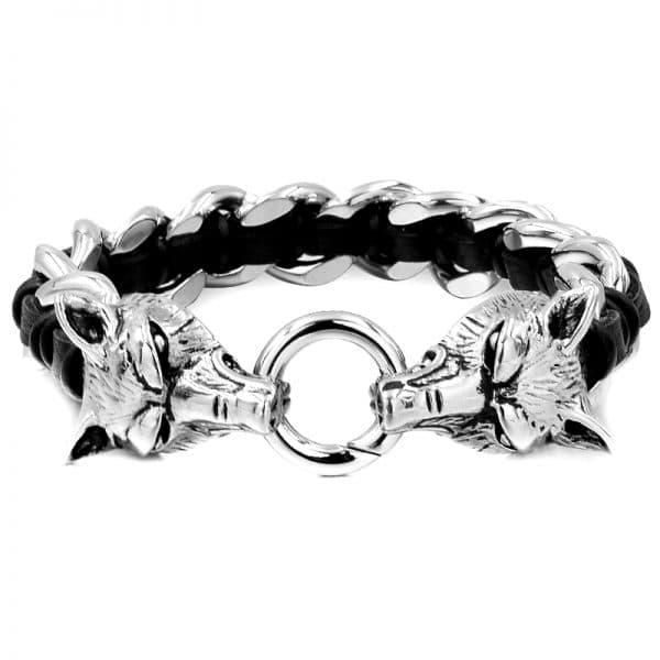 Bracelet Tête de Loup