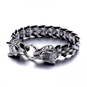 Bracelet Loup Biker