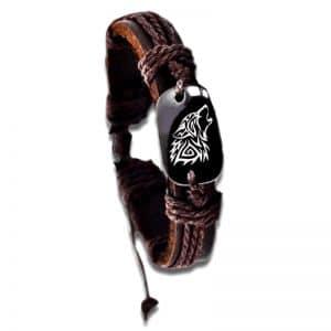 Bracelet Loup Hurlant