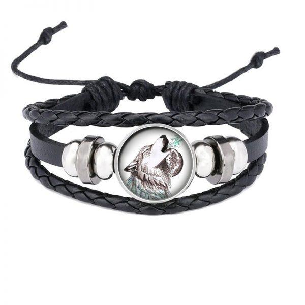 Bracelet Loup Qui Hurle motif 20