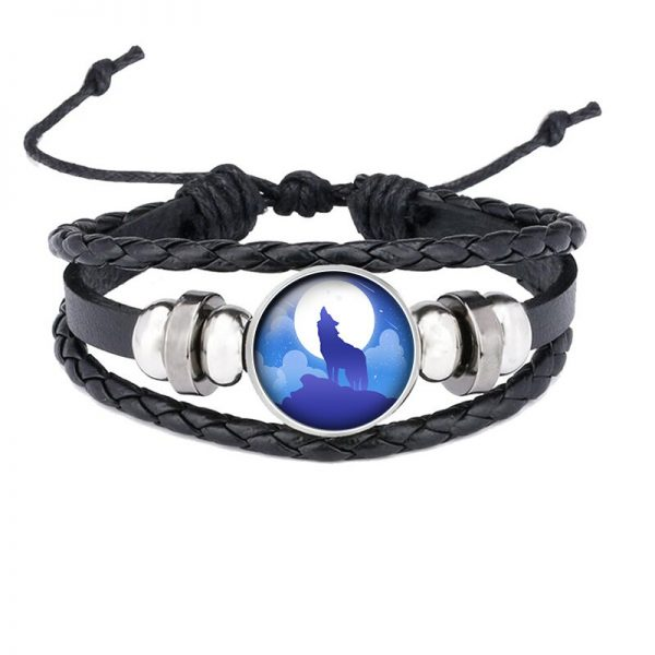 Bracelet Loup Qui Hurle motif 16