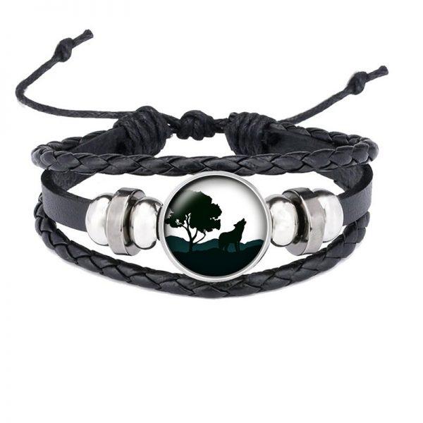 Bracelet Loup Qui Hurle motif 17