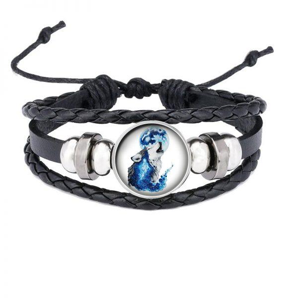 Bracelet Loup Qui Hurle motif 19
