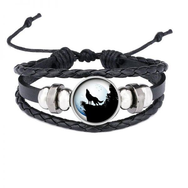 Bracelet Loup Qui Hurle motif 12