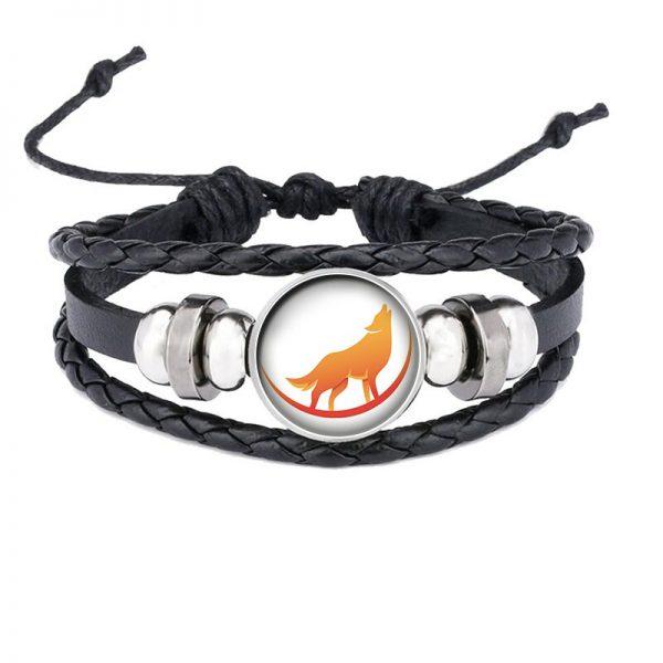 Bracelet Loup Qui Hurle motif 13