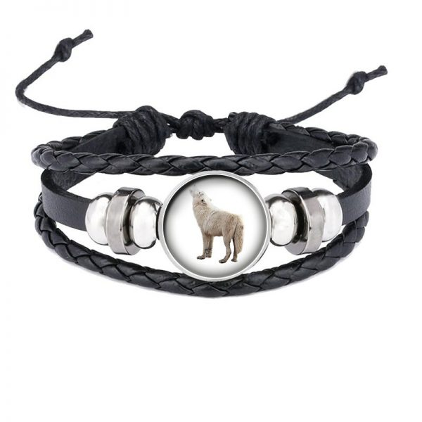 Bracelet Loup Qui Hurle motif 14