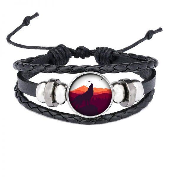 Bracelet Loup Qui Hurle motif 15