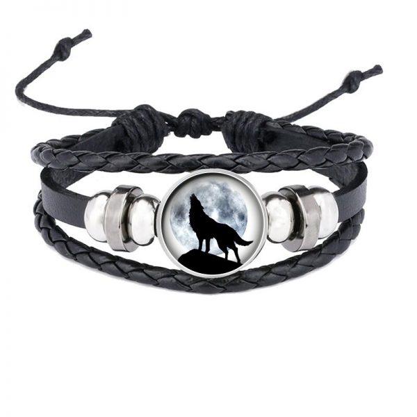 Bracelet Loup Qui Hurle motif 8