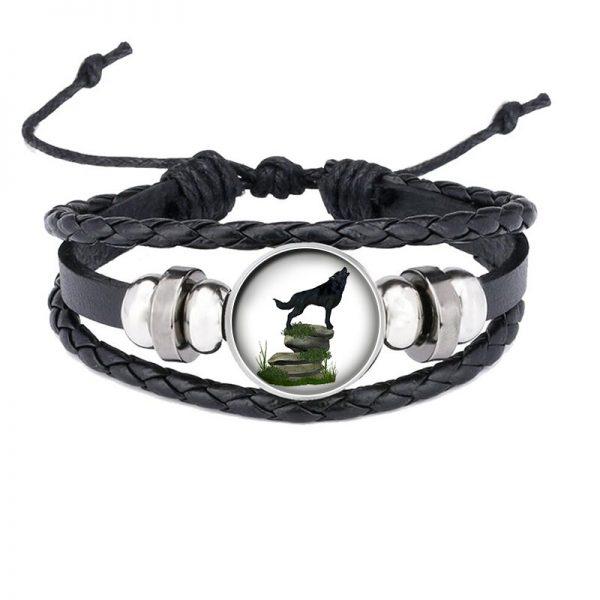 Bracelet Loup Qui Hurle motif 9