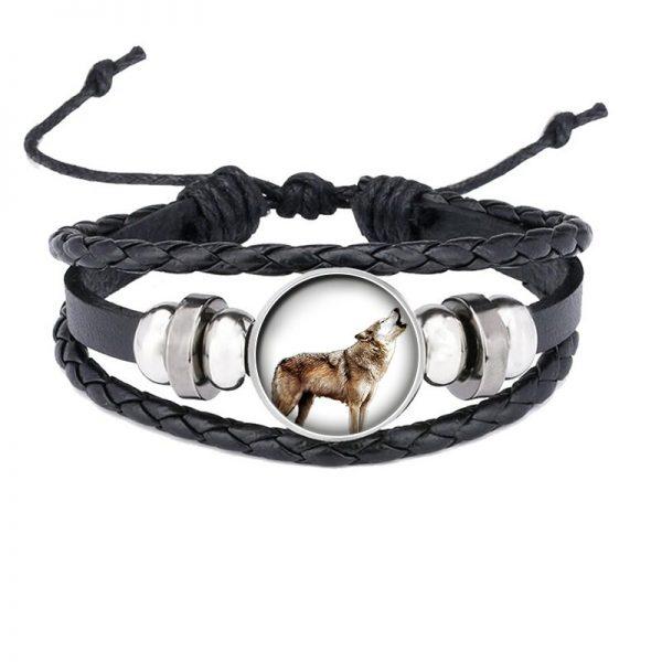 Bracelet Loup Qui Hurle motif 11