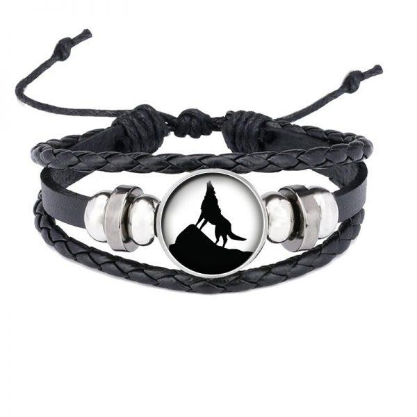 Bracelet Loup Qui Hurle motif 4