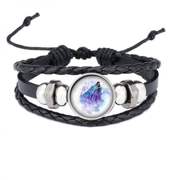 Bracelet Loup Qui Hurle motif 5