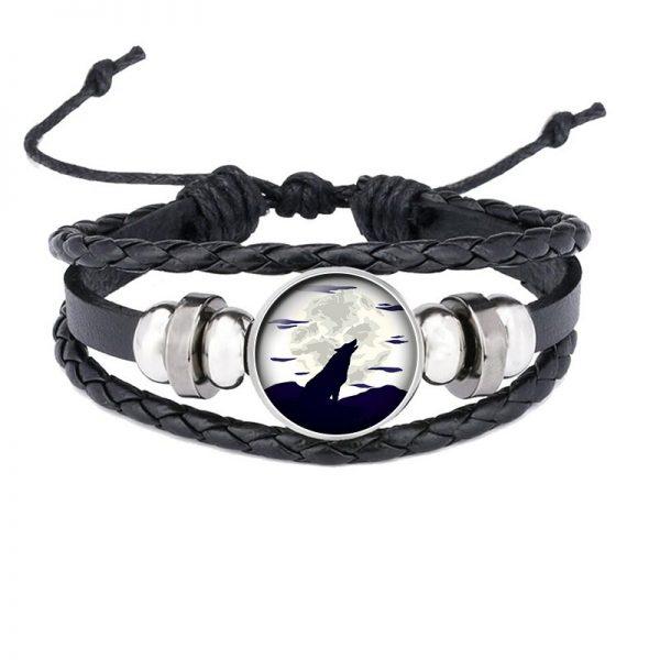 Bracelet Loup Qui Hurle motif 6